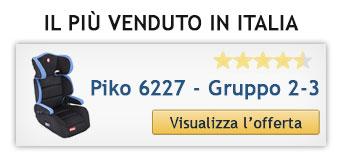 Seggiolino auto piu venduto in italia